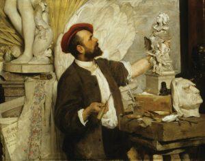 Alojs Stróbl 1880